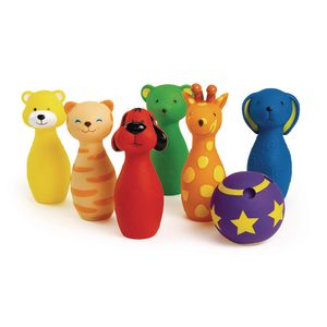 Colorful Bowling Friends - 7 Pieces