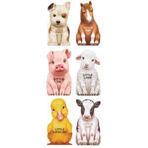 Little Farm Animal Board Books - 6 Titles