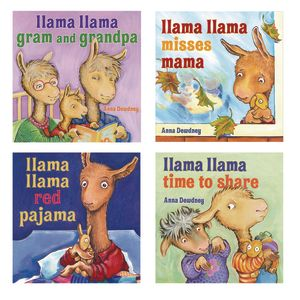 Llama Llama Rhyming Hardcover Books - 4 Titles