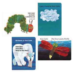 Eric Carle Board Books - Set of 4