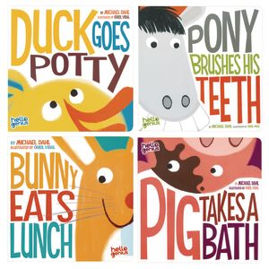 Toddler Self Care Board Books - Set of 4