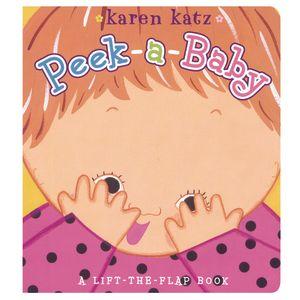 """Peek-A-Baby"" Board Book"
