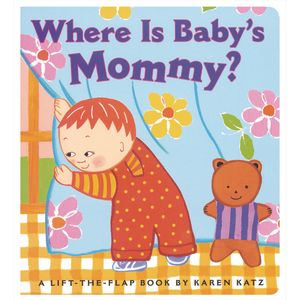 """""""Where Is Baby's Mommy"""" Board Book"""