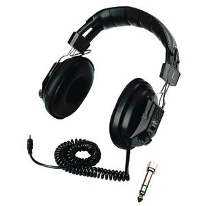 Califone® Switchable Stereo/Mono Headphone