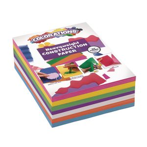 Colorations® Bright Construction Paper Smart Pack - 600 Sheets