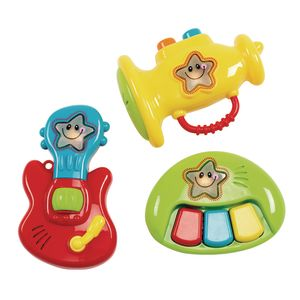 Rockstar Teethers & Rattles - 3 Pieces