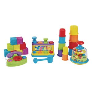 Baby's Big Toy Set - 18 Pieces