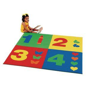 1-2-3-4 Activity Mat