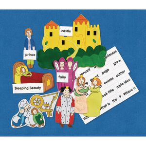 Excellerations® Fairy Tales Felt Stories - Sleeping Beauty