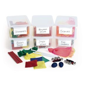 Easy Store Music & Movement Kit - 96 Pieces