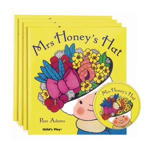 """Mrs. Honey's Hat"" - 4 Paperback Books and 1 CD"