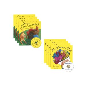 Read-Along Story Books Set 2 - 16 Books and 4 CDs