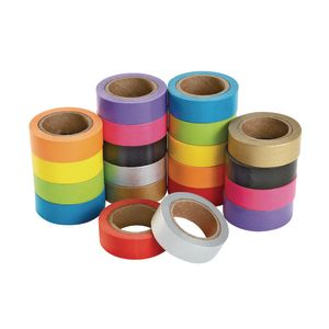 Colorations® Craft Tape Super Pack - Set of 20