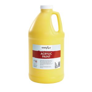 Acrylic Paint - 1/2 Gallon, Yellow