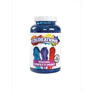 Colorations® Confetti Paint - Blue