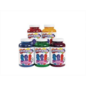 Colorations® Confetti Paint - Set of 5
