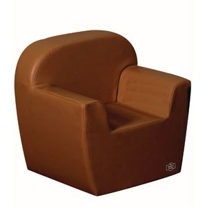 Woodland Preschool Club Chair - Walnut