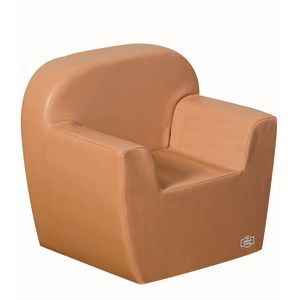 Woodland Preschool Club Chair - Almond