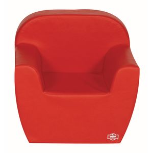 Primary Preschool Club Chair - Red