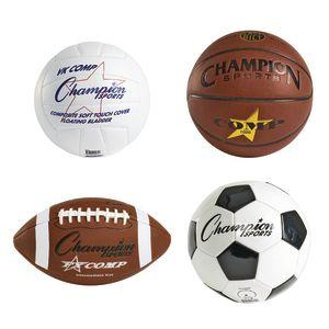 Authentic Sports Balls - Set of 4
