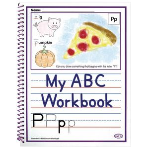 Excellerations® Alphabet Skills Workbooks - Set of 10