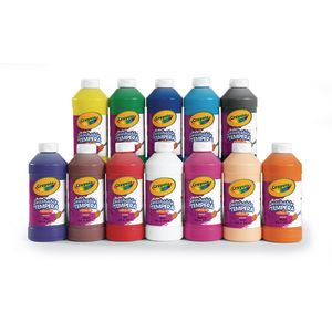 Crayola® Artista II® Tempera Paint - Set of 12 Colors