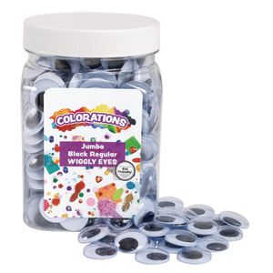 Colorations® Jumbo Wiggly Eyes - 300 Pieces