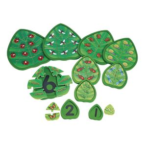 Excellerations® Wooden Counting Critters Puzzles - Set of 10