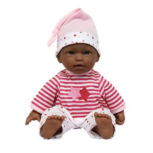 "11"" Soft Body Doll - African American"