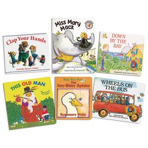 Action Words Board Books