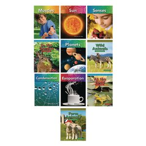 STEM Kindergarten Book Set - 10 Titles