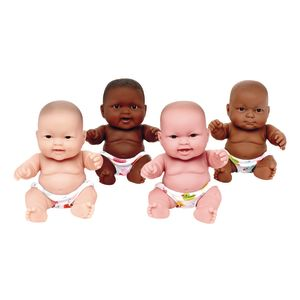 "Set of Four 10"" Huggy Babies"