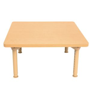 "Environments® 30"" Square Table with Metal Legs"