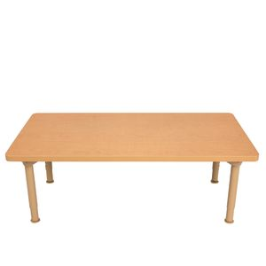 "Environments® 24"" x 48"" Rectangular Table with Metal Legs"