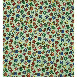 Pillowcase-Style Print Sheets - Animal Alphabet, Regular