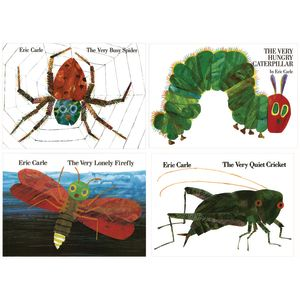 Eric Carle Hardcover Favorite Books - 4 Titles