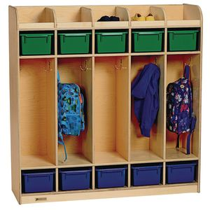 MyPerfectClassroom® 5-Section Locker - Preschool