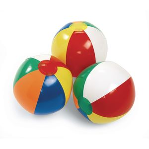 "8"" Beach Balls - Set of 3"