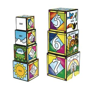 Days of Creation Stacking & Nesting Blocks
