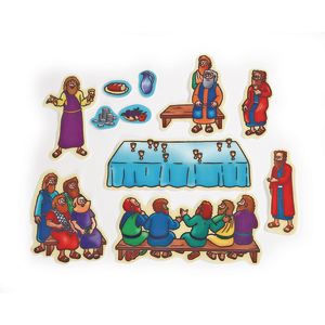 Beginners Bible™ Felt Story Set: Last Supper