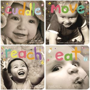 Happy Healthy Baby Board Books - 4 Titles