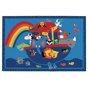 Noah's Animals Value Rug - 3' x 4'6