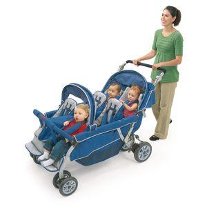 Six-Passenger Folding Bye-Bye® Stroller