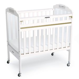 Safe-T-Side® White ClearView Crib