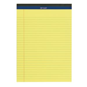 Letter Size Writing Pad - 50 Sheets