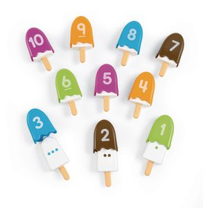 Smart Snacks® Number Pops - Set of 10