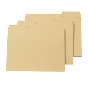 Letter Size Manila Folders - Box of 100