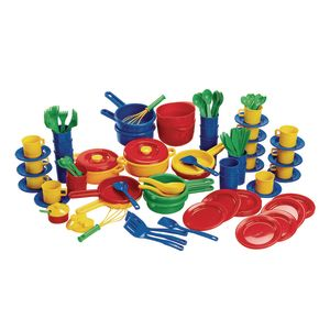 Big Value Dish Set - 132 Pieces