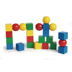 Magnetic Building Blocks - 24 Pieces