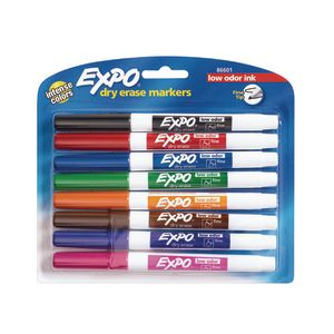 Expo® Fine Point Dry-Erase Markers - Set of 8